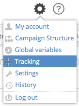 Tracking Settings