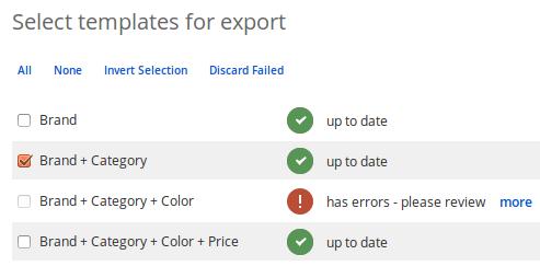New export